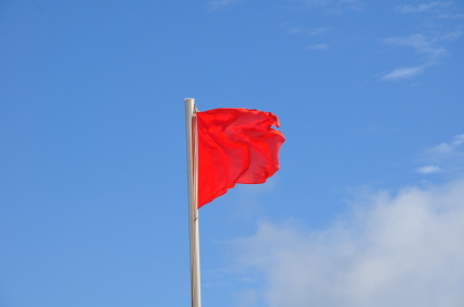 Sending Red Flags for College Admission