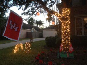 University Houston Christmas