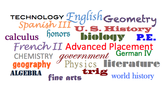 History what are the core subjects in college