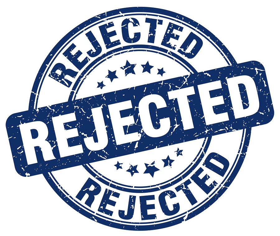 how to handle college rejection letters