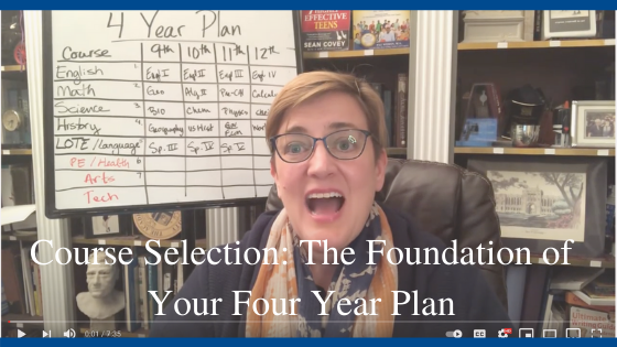 Course Selection: The Foundation of Your Four Year Plan