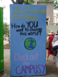How do you want to change this world?